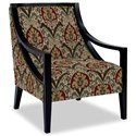 Craftmaster Accent Chairs Exposed Wood Chair - Item Number: 049410-SHALIMAR-27