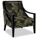 Craftmaster Accent Chairs Exposed Wood Chair - Item Number: 049410-SPIRIT-22
