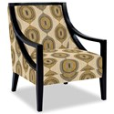 Craftmaster Accent Chairs Exposed Wood Chair - Item Number: 049410-TRAVELER-02