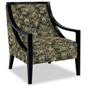 Craftmaster Accent Chairs Exposed Wood Chair - Item Number: 049410-TRUMBULL-45