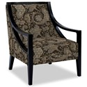 Craftmaster Accent Chairs Exposed Wood Chair - Item Number: 049410-VANNA-09