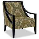 Craftmaster Accent Chairs Exposed Wood Chair - Item Number: 049410-VINCENT-21