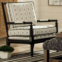 Craftmaster Accent Chairs Exposed Wood Chair - Item Number: 052410-Houma 10