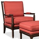 Craftmaster Accent Chairs Exposed Wood Chair - Item Number: 052410-JAMBOREE-26