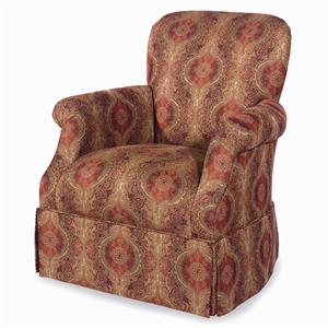 Craftmaster Accent Chairs Upholstered Swivel Chair