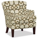 Craftmaster Accent Chairs Accent Chair - Item Number: 053210-CARREAU-07