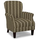 Craftmaster Accent Chairs Tight Back Accent Chair - Item Number: 053510-BELLEVUE-41