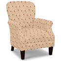 Craftmaster Accent Chairs Tight Back Accent Chair - Item Number: 053510-BENGIE-10