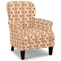 Craftmaster Accent Chairs Tight Back Accent Chair - Item Number: 053510-BENSALEM-10