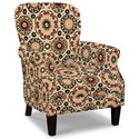 Craftmaster Accent Chairs Tight Back Accent Chair - Item Number: 053510-CANDY SHOP-26