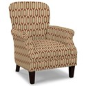 Craftmaster Accent Chairs Tight Back Accent Chair - Item Number: 053510-CHIMAYO-26