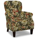 Craftmaster Accent Chairs Tight Back Accent Chair - Item Number: 053510-CLOVER-41
