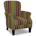 Craftmaster Accent Chairs Tight Back Accent Chair - Item Number: 053510-CRAZYHORSE-28