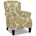 Craftmaster Accent Chairs Tight Back Accent Chair - Item Number: 053510-CREVELLI-10