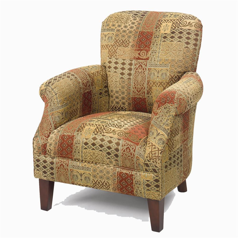 Craftmaster Accent Chairs Tight Back Accent Chair - Item Number: 053510-DANVILLE-10