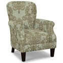 Craftmaster Accent Chairs Tight Back Accent Chair - Item Number: 053510-DEMURE-21