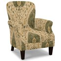 Craftmaster Accent Chairs Tight Back Accent Chair - Item Number: 053510-DESERT-17