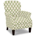 Craftmaster Accent Chairs Tight Back Accent Chair - Item Number: 053510-ENHANCE-15