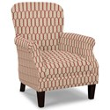 Craftmaster Accent Chairs Tight Back Accent Chair - Item Number: 053510-FROU FROU-26