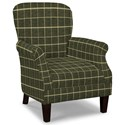 Craftmaster Accent Chairs Tight Back Accent Chair - Item Number: 053510-HERO-41