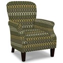 Craftmaster Accent Chairs Tight Back Accent Chair - Item Number: 053510-JIMINY-09