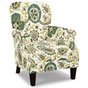 Craftmaster Accent Chairs Tight Back Accent Chair - Item Number: 053510-LADBROOK-22