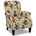 Craftmaster Accent Chairs Tight Back Accent Chair - Item Number: 053510-LIANA-26