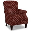 Craftmaster Accent Chairs Tight Back Accent Chair - Item Number: 053510-MIDWAY-26