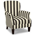Craftmaster Accent Chairs Tight Back Accent Chair - Item Number: 053510-PORTERO-45