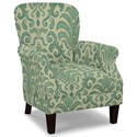 Craftmaster Accent Chairs Tight Back Accent Chair - Item Number: 053510-RUSTICA-21