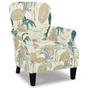 Craftmaster Accent Chairs Tight Back Accent Chair - Item Number: 053510-SOUTHLAKE-21