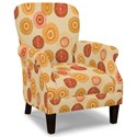 Craftmaster Accent Chairs Tight Back Accent Chair - Item Number: 053510-STARBRIGHT-02
