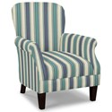 Craftmaster Accent Chairs Tight Back Accent Chair - Item Number: 053510-STREAMLINE-23