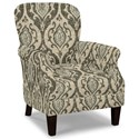 Craftmaster Accent Chairs Tight Back Accent Chair - Item Number: 053510-SURI-41
