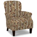 Craftmaster Accent Chairs Tight Back Accent Chair - Item Number: 053510-WALLACE-10