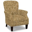 Craftmaster Accent Chairs Tight Back Accent Chair - Item Number: 053510-WEST GATE-10