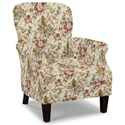 Craftmaster Accent Chairs Tight Back Accent Chair - Item Number: 053510-WILTSHIRE-10