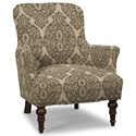 Craftmaster Accent Chairs Accent Chair - Item Number: 054210-DELMONICO-08