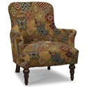 Craftmaster Accent Chairs Accent Chair - Item Number: 054210-FELICITY-25