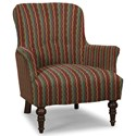 Craftmaster Accent Chairs Accent Chair - Item Number: 054210-FIBEROPTIC-25