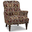 Craftmaster Accent Chairs Accent Chair - Item Number: 054210-KITSUNE-10