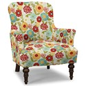 Craftmaster Accent Chairs Accent Chair - Item Number: 054210-LUNA-25