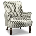 Craftmaster Accent Chairs Accent Chair - Item Number: 054210-OPTICAL-23