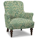 Craftmaster Accent Chairs Accent Chair - Item Number: 054210-RUSTICA-21