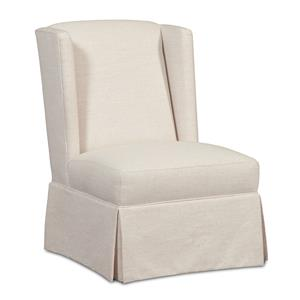 Cozy Life Accent Chairs Skirted Wing Chair
