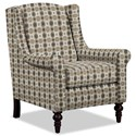 Craftmaster Accent Chairs Chair - Item Number: 058710-BLAST-08