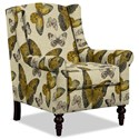 Craftmaster Accent Chairs Chair - Item Number: 058710-FLUTTERFLY-02