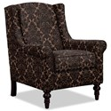 Craftmaster Accent Chairs Chair - Item Number: 058710-HEARTBREAK-08
