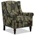 Craftmaster Accent Chairs Chair - Item Number: 058710-SPIRIT-22