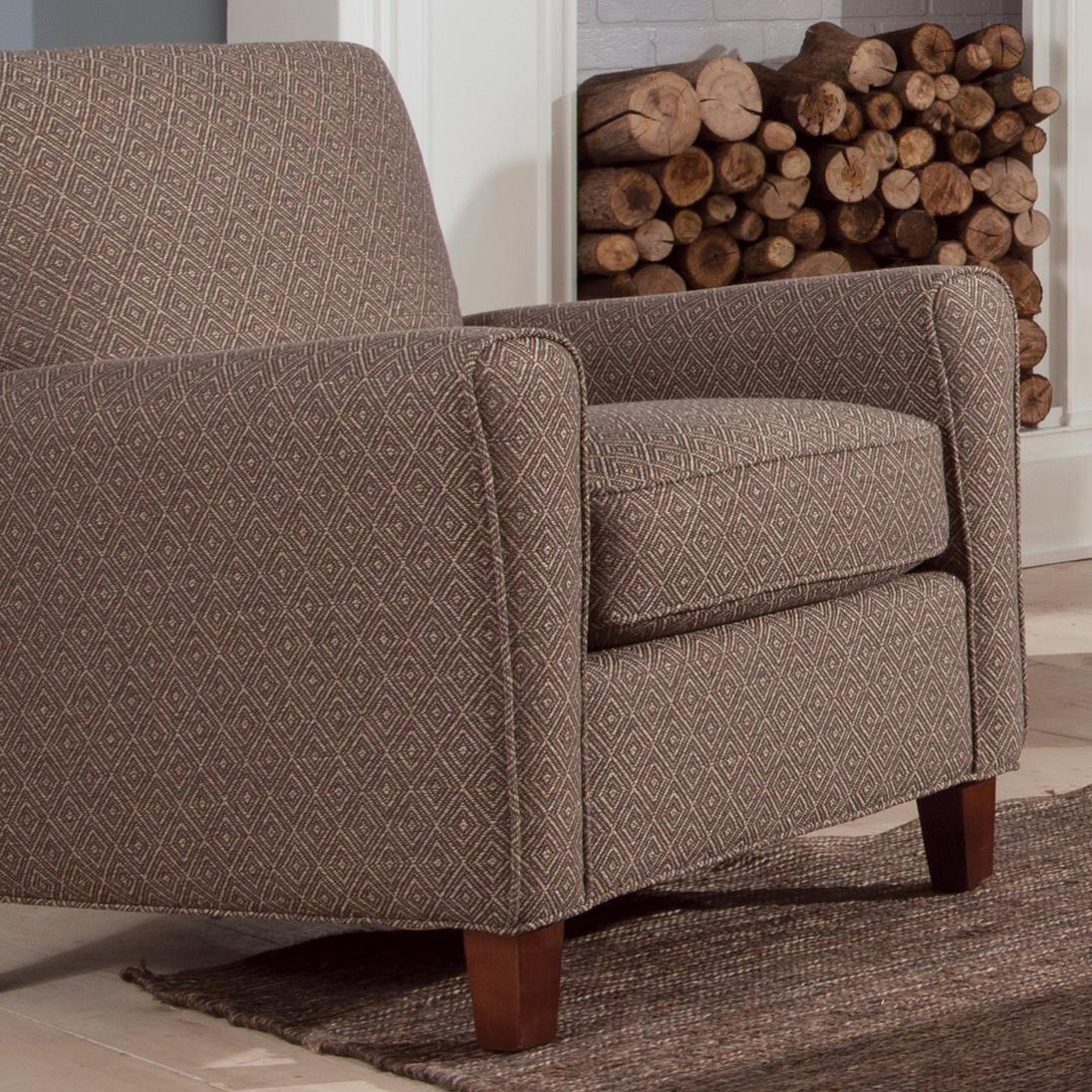 Craftmaster Accent Chairs Contemporary Accent Chair with ...